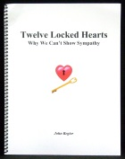Twelve Locked Hearts Outline